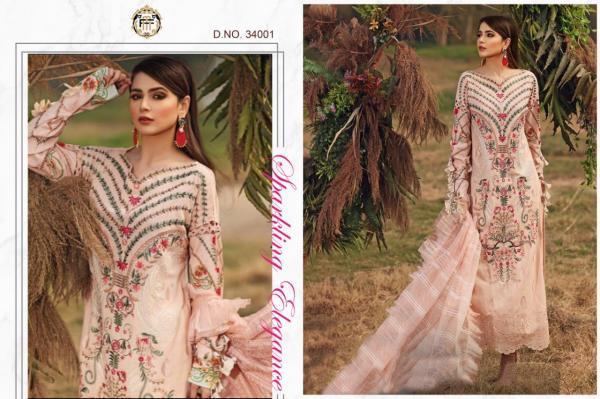 Shiza Hassan Luxury Lawn 2020 34001-34003 Series