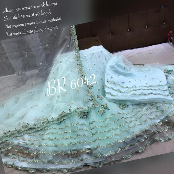 BR Designer Lehenga Choli BR 6042 Colors