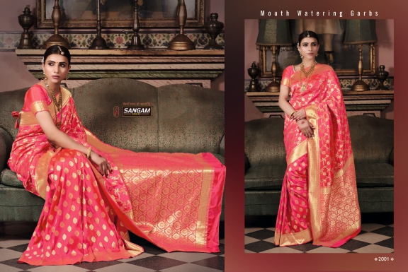 Sangam Saree Asavalli Silk Vol-1 2001-2008 Series