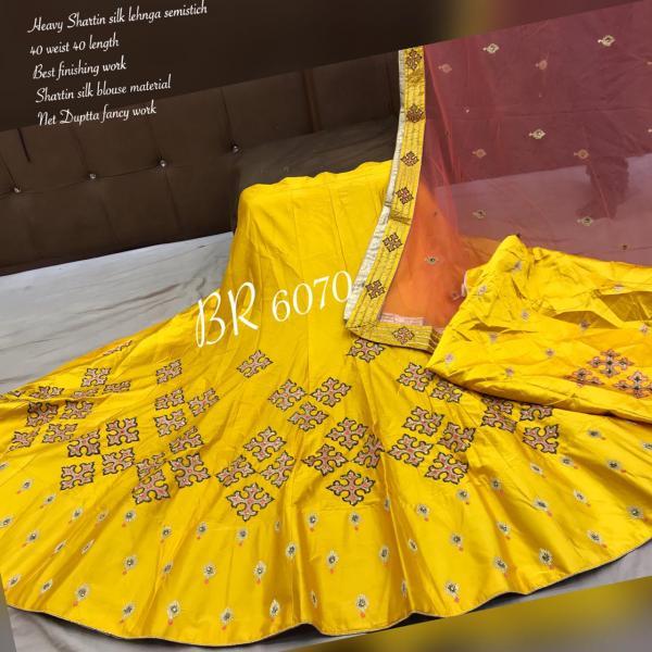 BR Designer Appliqe style Lehenga BR-6070 Colors