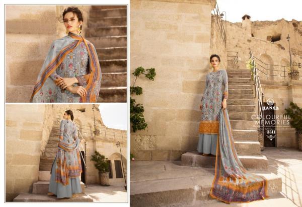 Hansa Prints Husna Ara Exclusive 3511-3518 Series