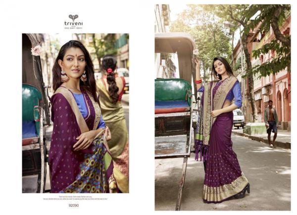 Triveni Saree Nirali 92090-92097 Series