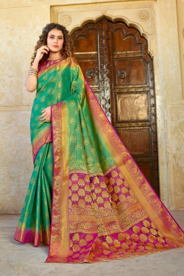 Sangam Prints Vijaylaxmi Silk  1301-1306 Series
