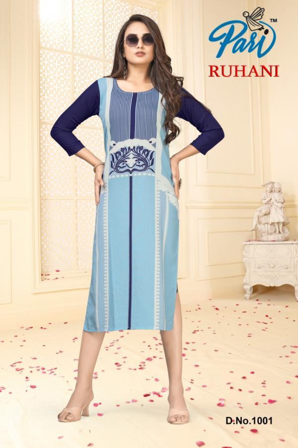 Pari Fashion Ruhani 1001-1006 Series