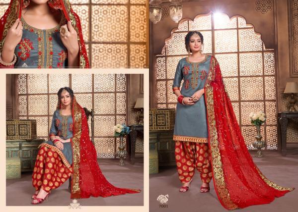 Utsav Suits Suhaana Vol-2 7001-7006 Series