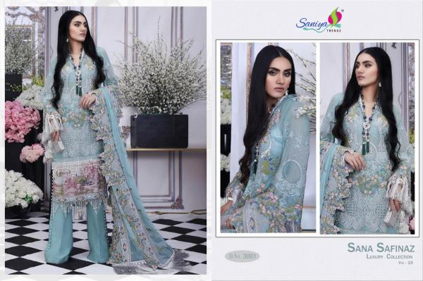 Saniya Trendz Sana Safinaz Luxury Collection-19 3001-3004 Series