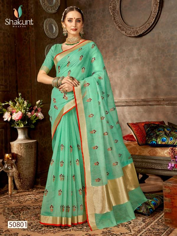 Shakunt Saree Shobha 50801-50808 Series