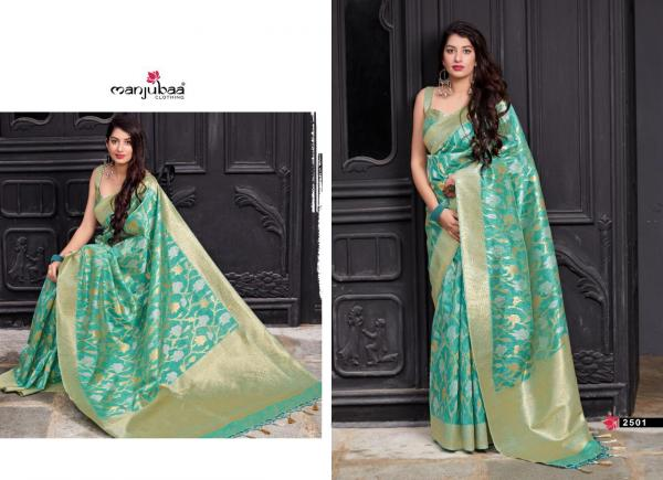 Manjuba Saree Maryada Silk 2501-2508 Series