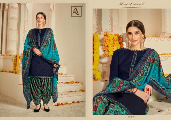 Alok Suit Naaz E Patiyala 341-001-341-008 Series