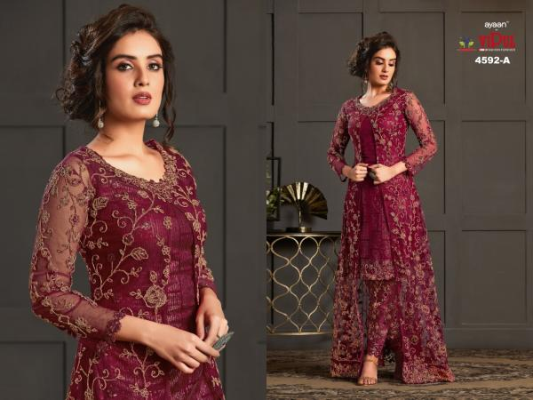 Vipul Fashion Elliza 4592 Master Colors