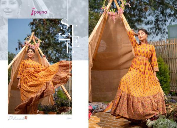 Psyna Designer Phool Vol-5 5001-5006 Series