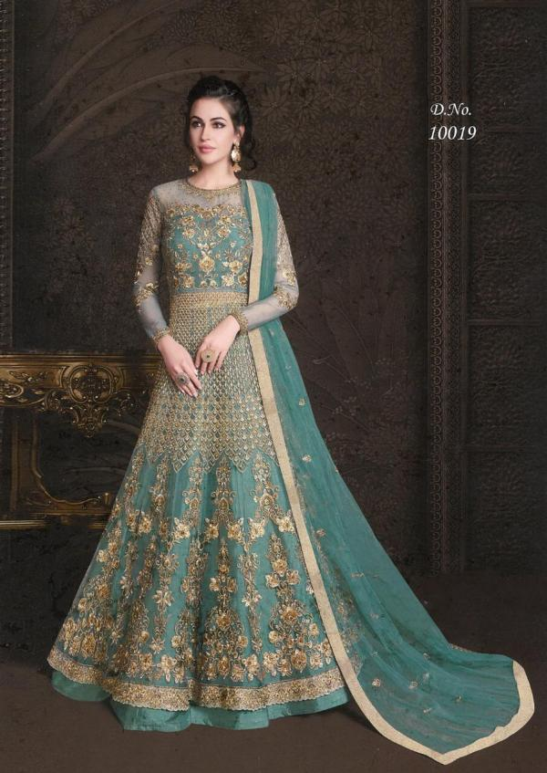 Rama Fashions Raazi Aroos 10019 Colors Premium Quality Dress