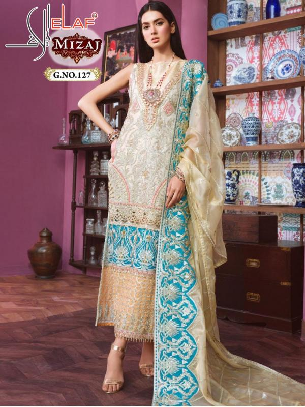 Galaxy Fab Elaf Mizaj 127 Design Salwar Suits