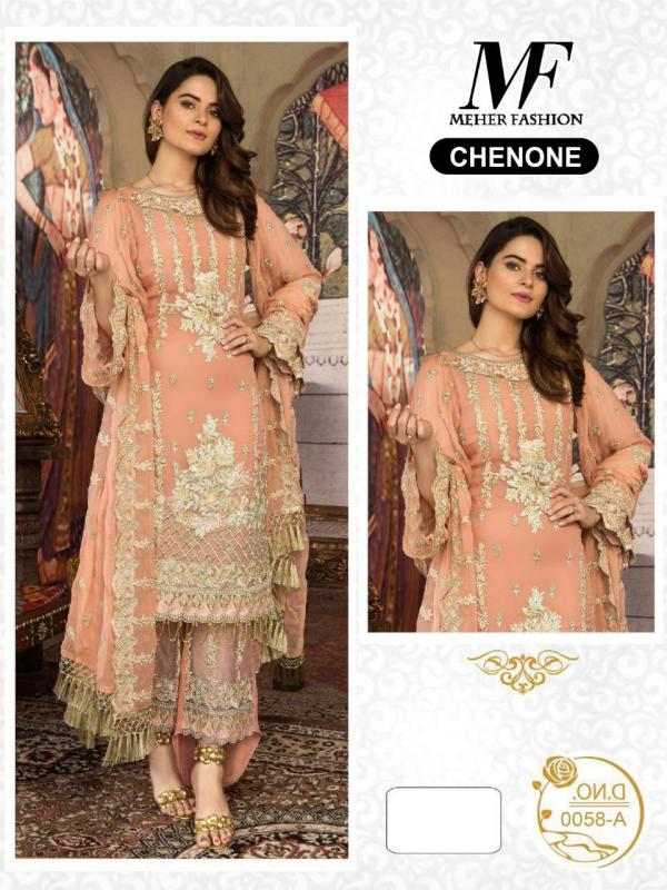 Meher Fashion 058 Colors