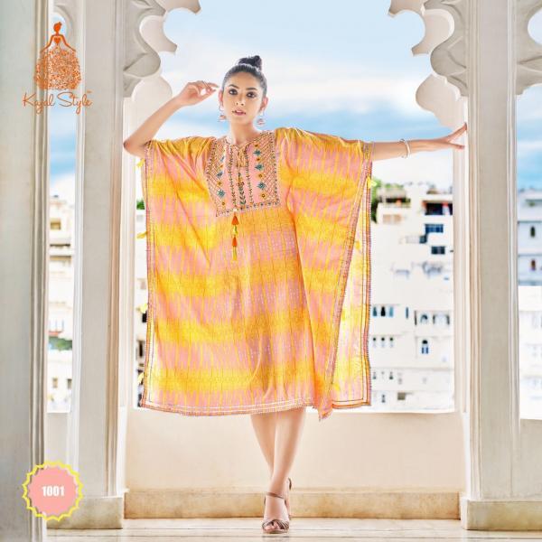 Kajal Style Fashion Cocktail Vol-01 1001-1010 Series