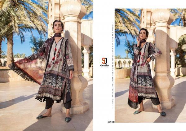 Shraddha Designer Sobia Nazir Vital Vol-3 301-306 Series