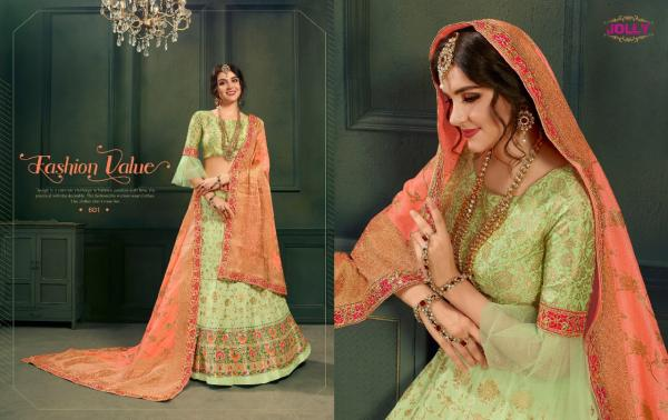Jolly 601-610 Series Party Wear Lehenga Choli