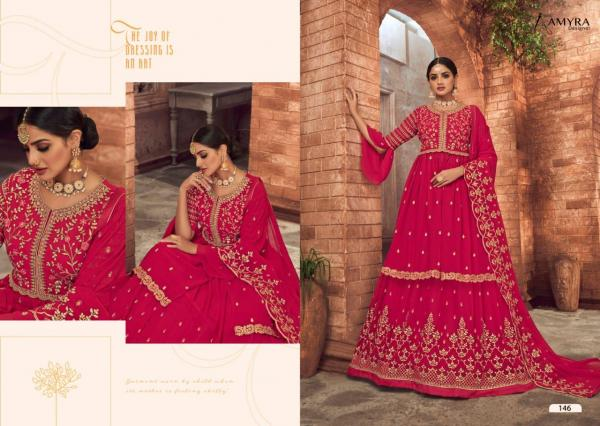 Amyra Designer Panghat Vol-9 146-151 Series