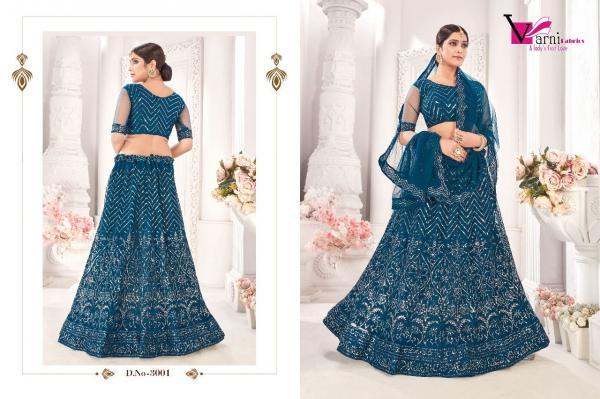 Varni Fabric Zeeya Noor 3001-3004 Series