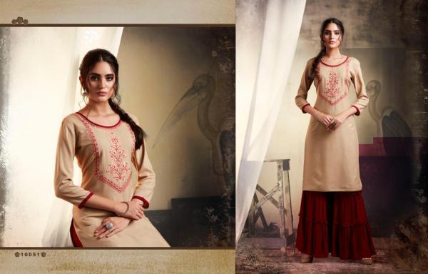 Kajree Fashion Kalaroop Khanak Vol-3 10051-10060 Series
