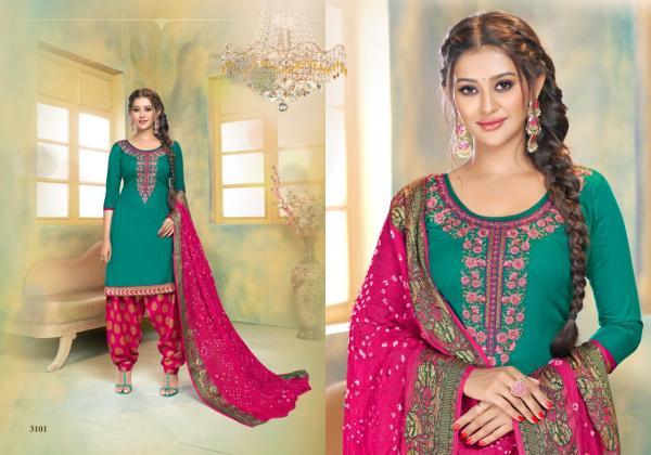 Utsav Suits Suhaana Vol-3 3101-3106 Series