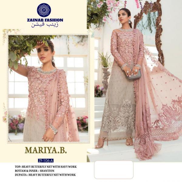 Zainab Fashion Mariya B 106 Colors