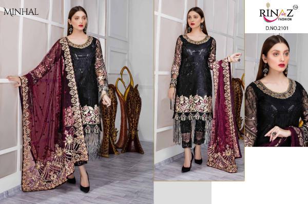 Rinaz Fashion Minhal 2101-2106 Series