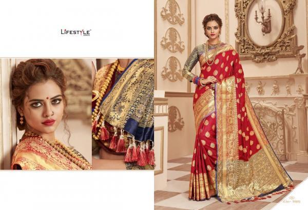 Lifestyle Banarasi Silk Vol-3 59161-59166 Series