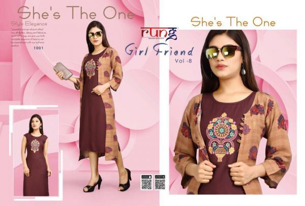 Rung Girl Friend Vol-8 1001-1010 Series