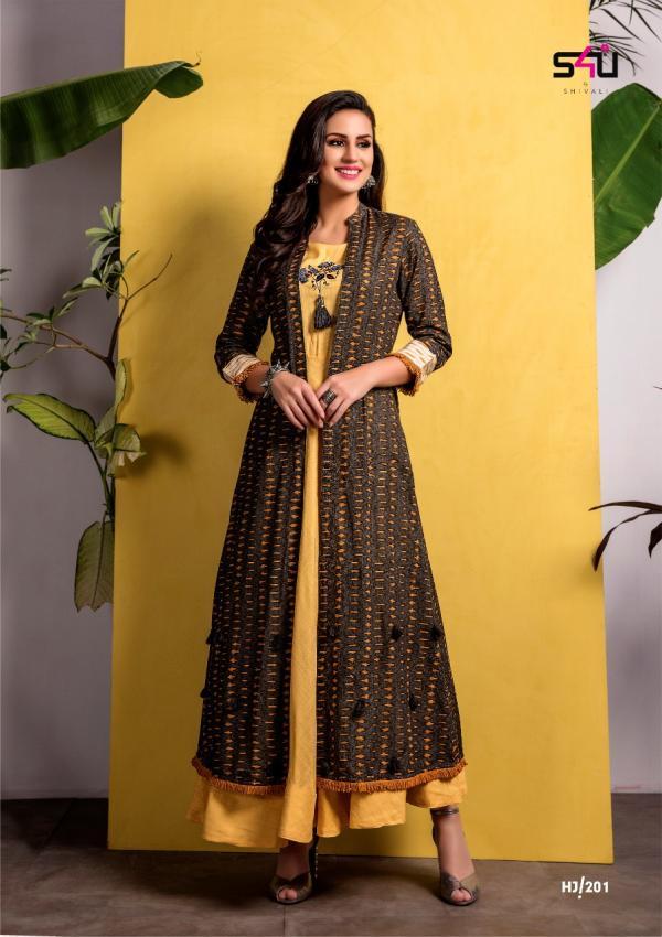 S4U Shivali Hello Jacket Vol-2 201-206 Series