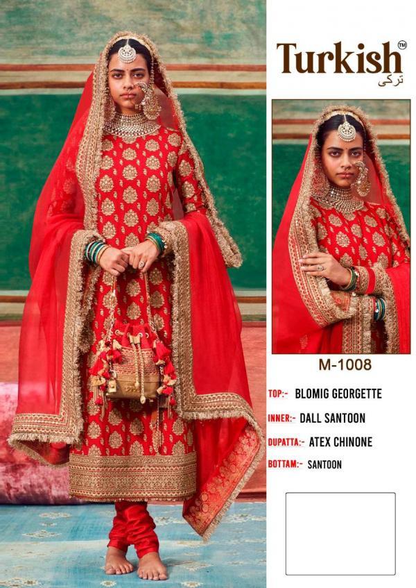Pakistani Suits Turkish M-1008-M-1013 Series