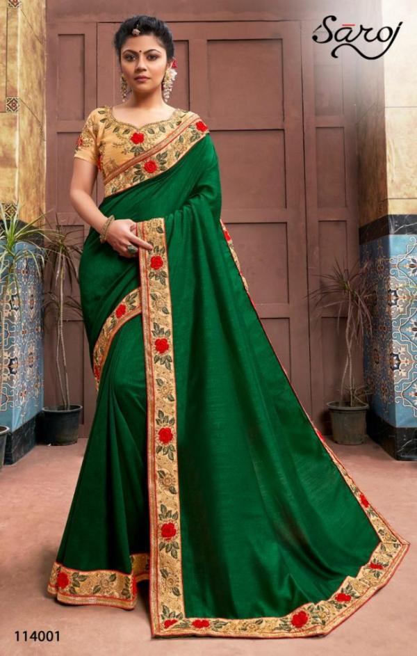 Saroj Saree Dark And Lovely 114001-114006 Series