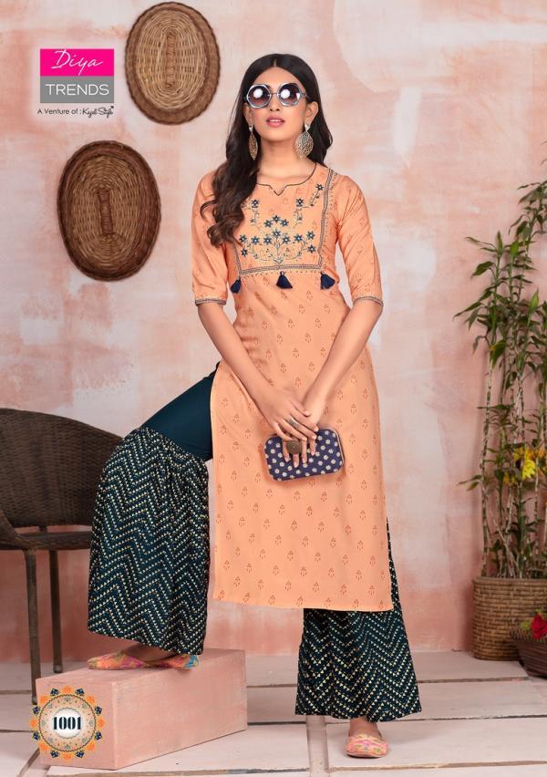 Diya Trendz Fashion Angel Vol-1 1001-1012 Series