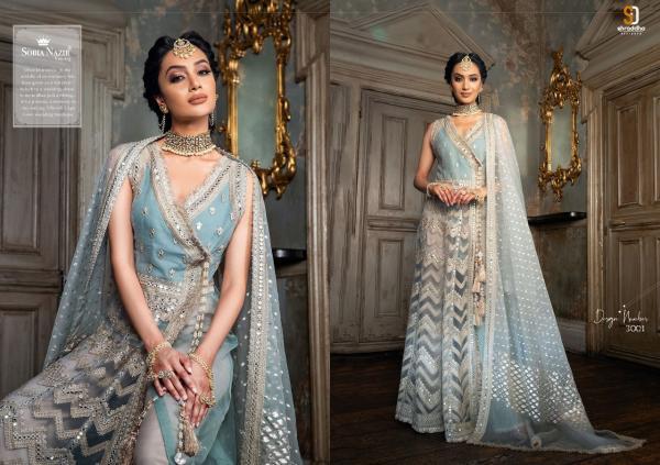 Shraddha Designer Sobia Nazir Vol-3 3001-3005 Series