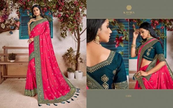 Kavira Saree SilkorIa Vol-2 1101-1109 Series