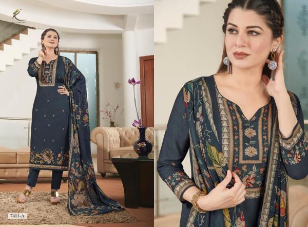 Rakhi Fashion Lenora 7411-7414 AB