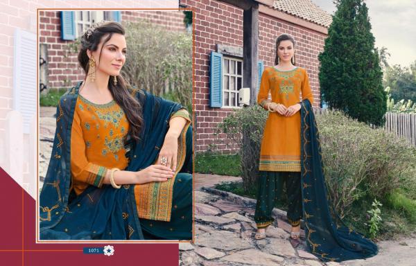 Kajree Fashion Of Patiyala Vol-23 1071-1082 Series