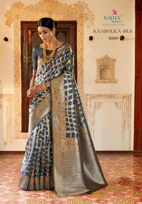 Rajtex Kanshula Silk 80001-80012 Series