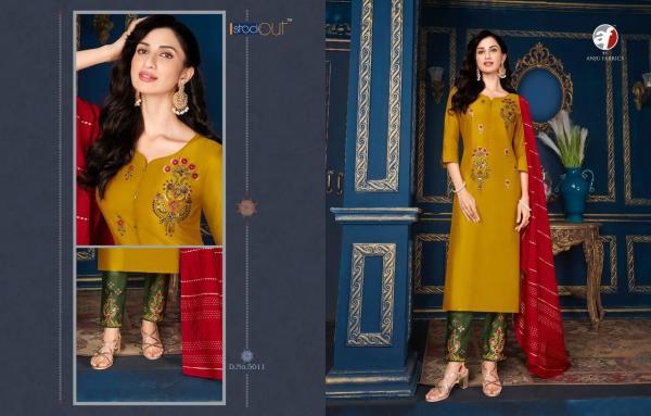 Anju Fabric Silk Affair 5011-5018 Series
