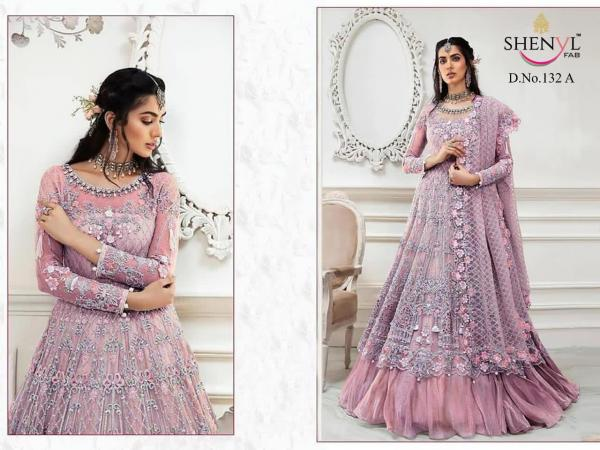 Shenyl Fab 132 Colors Salwar Suits