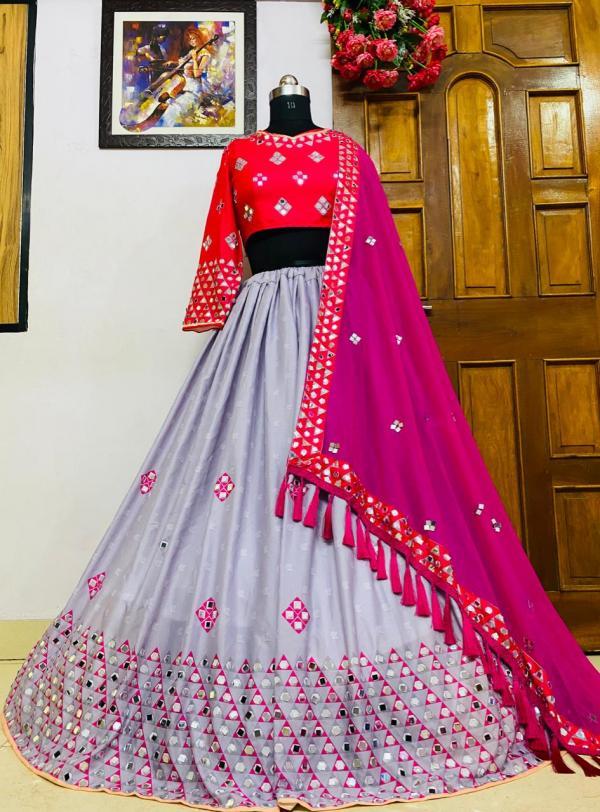 Bollywood Designer Fancy Mirror Work Lehenga