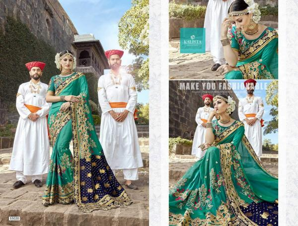 Kalista Fashions Virasat Vol-3 55020-55027 Series