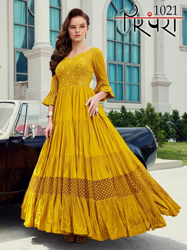 Parampara Gowns Vol-5 1021-1024 Series