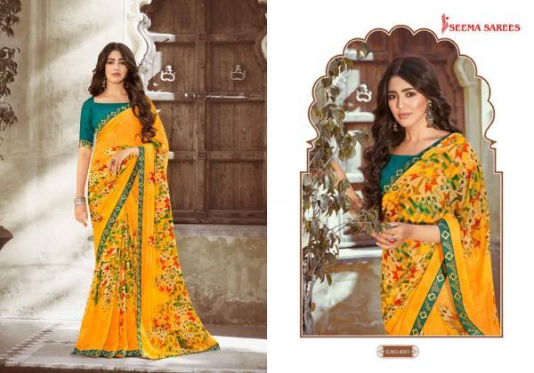 Seema Saree Man Pasand Vol-10 4001-4010 Series
