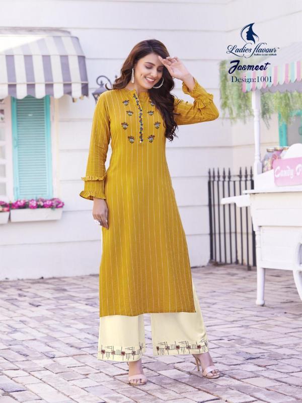 Ladies Flavour Jasmeet 1001-1008 Series