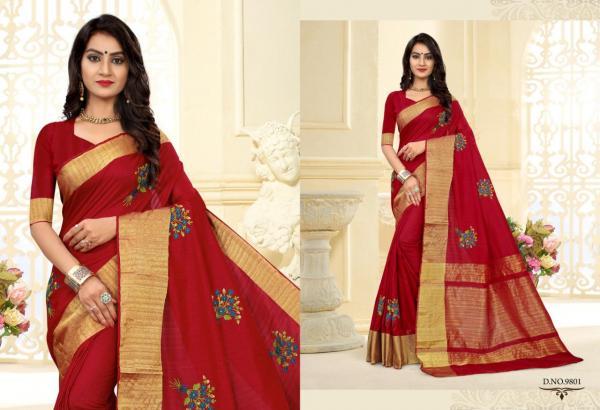 Kessi Fabrics Trushna 9801-9806 Series