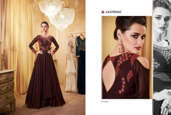Aashirwad Creation Gulkand London Dreams 8106-8113 Series
