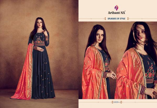 Arihant NX Rizwana Vol-2 Gold 5009 Colors