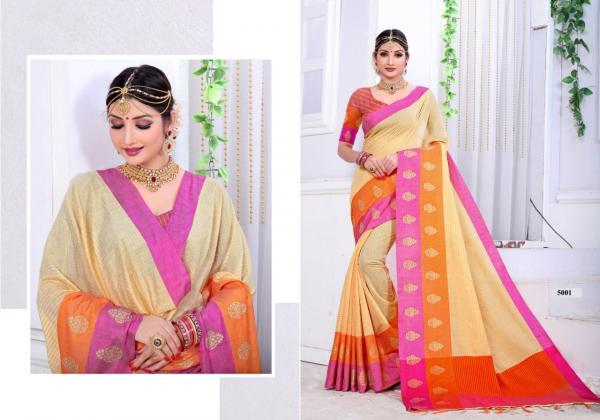 Dwarkanath Silk Mills Pallavi 5001 5010 Series