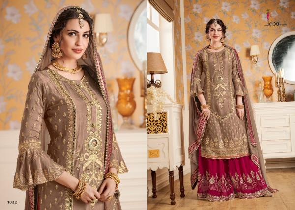 Eba Lifestyle Hurma Vol-6 Bridal Collection 1032-1035 Series